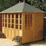 Save on this Chatsworth Summerhouse  (H) 2.55m x (W) 2.37m x (D) 1.9m