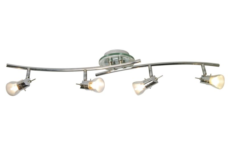 Radian Crescent Bar Spot Light 6787 Chrome Effect 40w