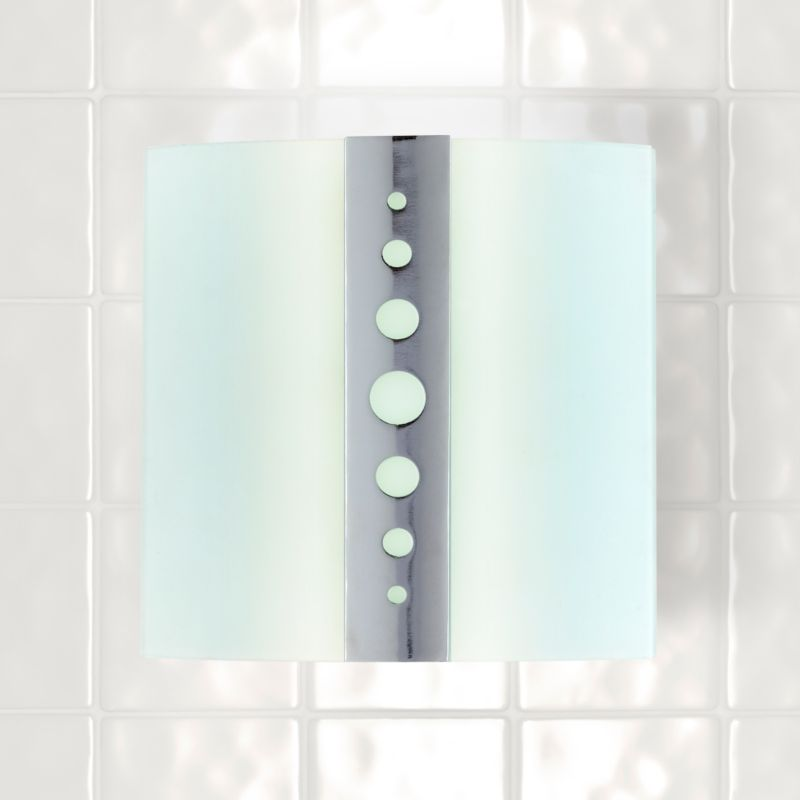 Wall Light Fitting Instructions : Aqua Wall Light Chrome Plated Effect - review, compare prices, buy online