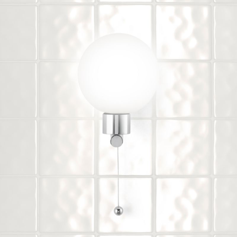 Wall Light Chrome Plated Effect