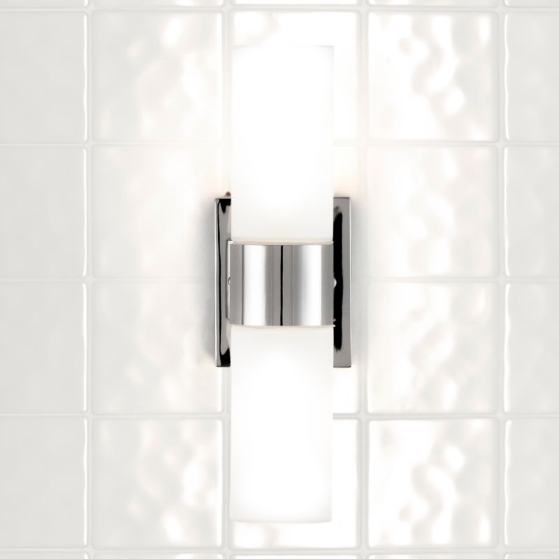 Revo Wall Light Bright Nickel Plated