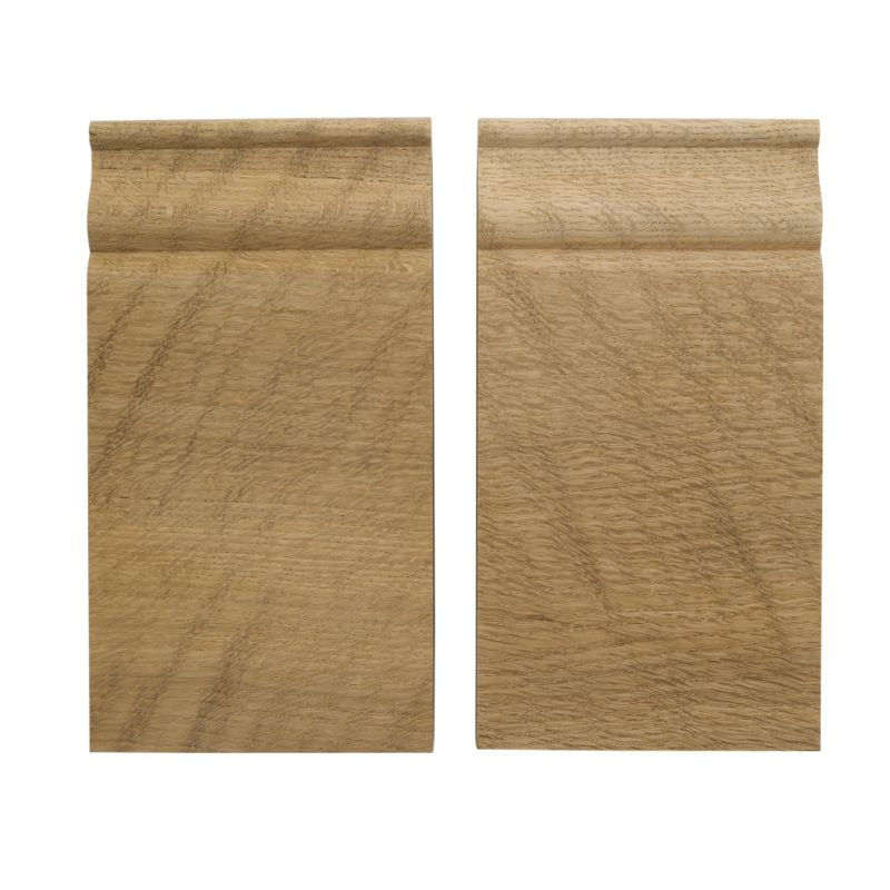 Winther Browne Skirting Block Oak (W)89 x (L)165 x (T)28mm