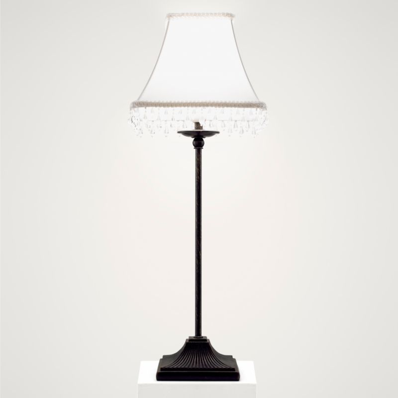 Lights by BandQ Lucie Table Lamp Black