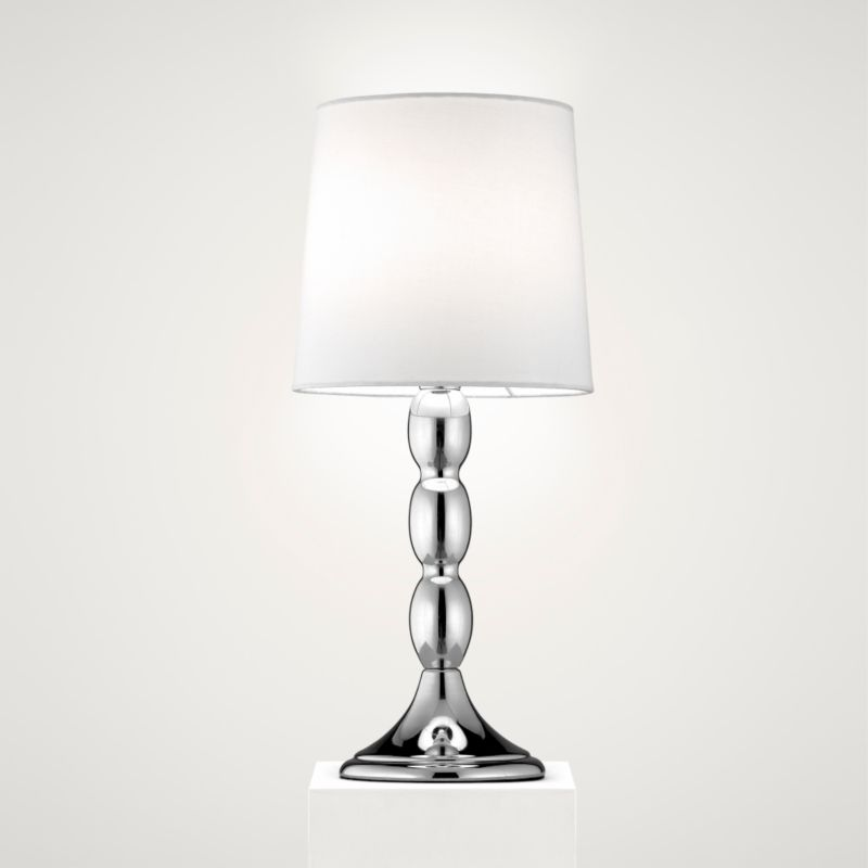 Lights by BandQ Alessa Table Lamp Chrome Effect
