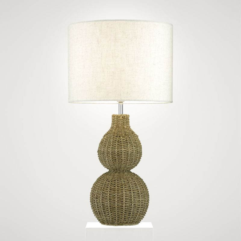 Lights by BandQ Massai Table Lamp Natural