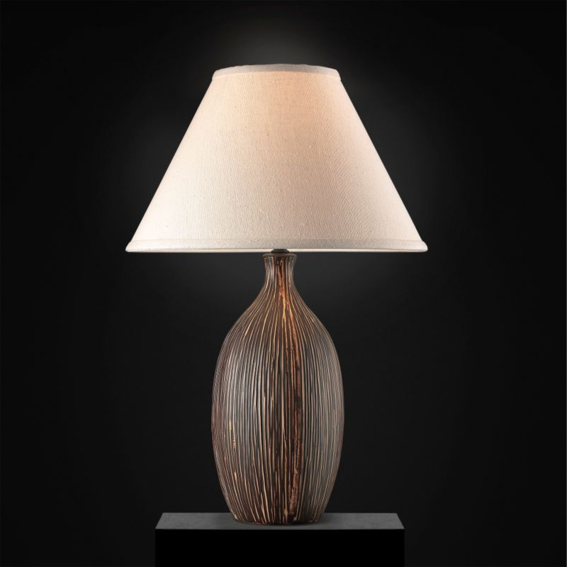Lights by BandQ Makena Table Lamp Tan