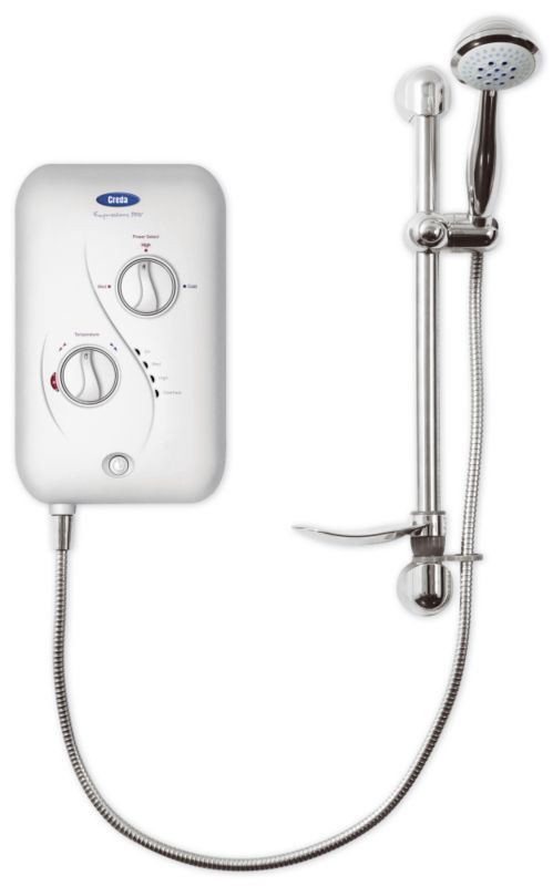 Expressions Electric Shower 8.5kW Silver