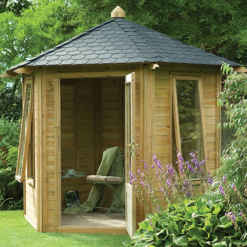 Caversham Summerhouse With Assembly (W) 2.7 x (D) 2.4m