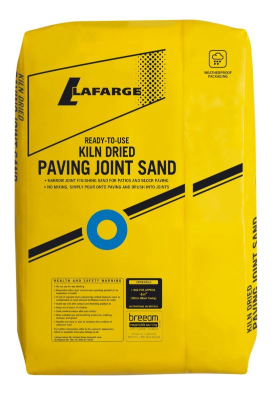 Lafarge Kiln Dried Paving Joint Sand Large