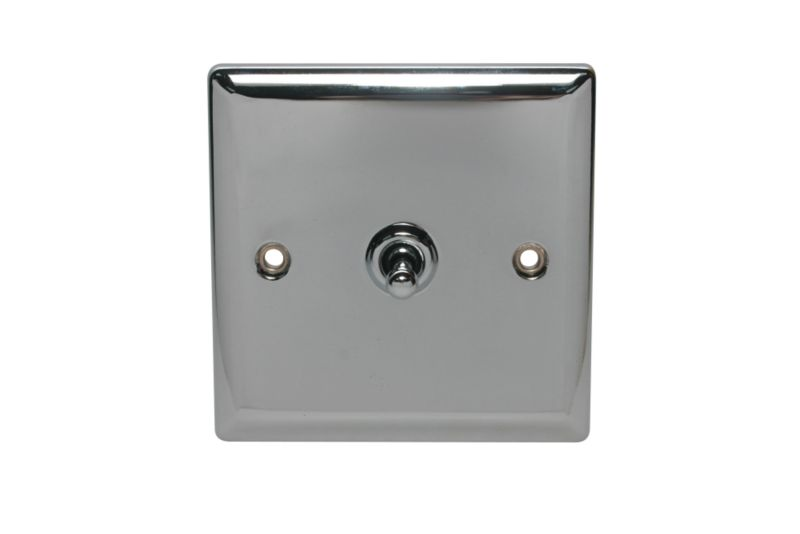 Volex Light switch Toggle Single 2 Way 1Ax