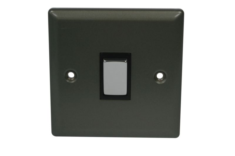 Volex Light switch Single 2 Way 1Ax