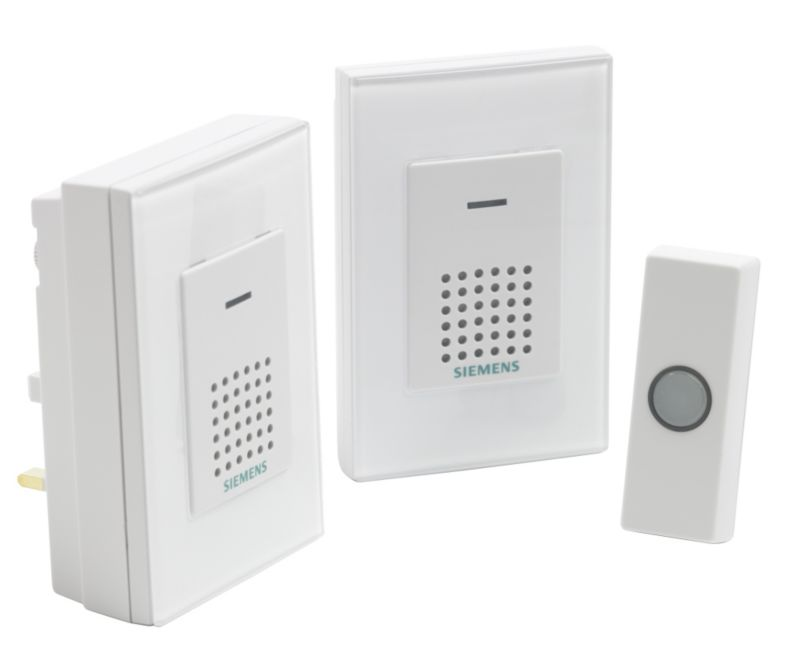 Siemens Wirefree Port/Plug-In Chime Kit Twin Pack