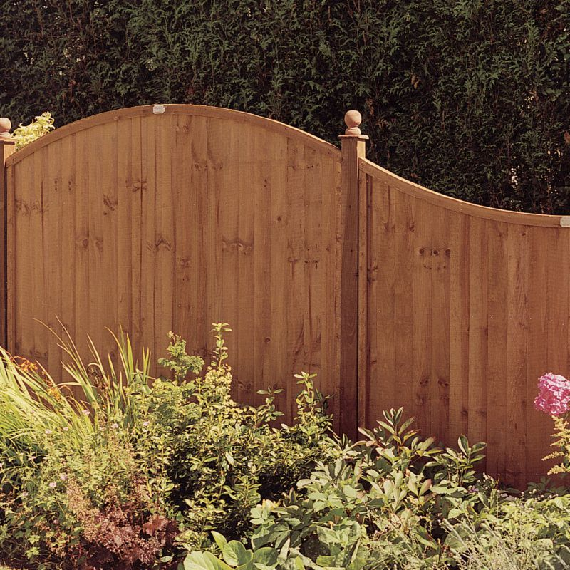Grange Dome Closeboard Kit 20 x (H)2m Panels, 21 x(H)2.4m Posts