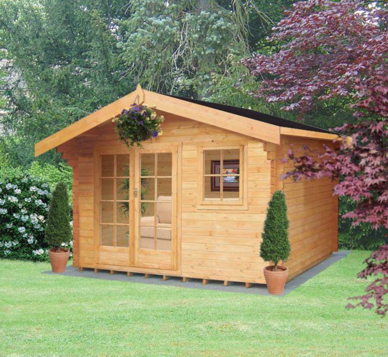 Thetford Natural Cabin (H) 2.7 x (W) 3.59 x (D) 2.39m