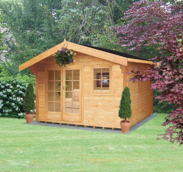 Thetford Cabin Including Assembly  (H) 2.7 x (W) 3.59 x (D) 2.39m