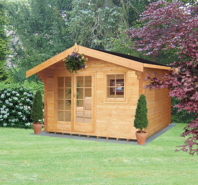 Thetford Cabin Including Assembly (H) 2.7 x (W) 3.59 x (D) 2.99m