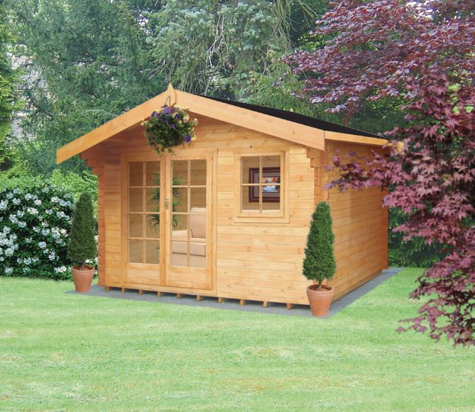 Thetford Cabin Including Assembly (H) 2.7 x (W) 3.59 x (D) 3.59m