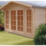 Save on this Epping Log Cabin  (H) 2.5m x (W) 2.99m x (D) 1.79m