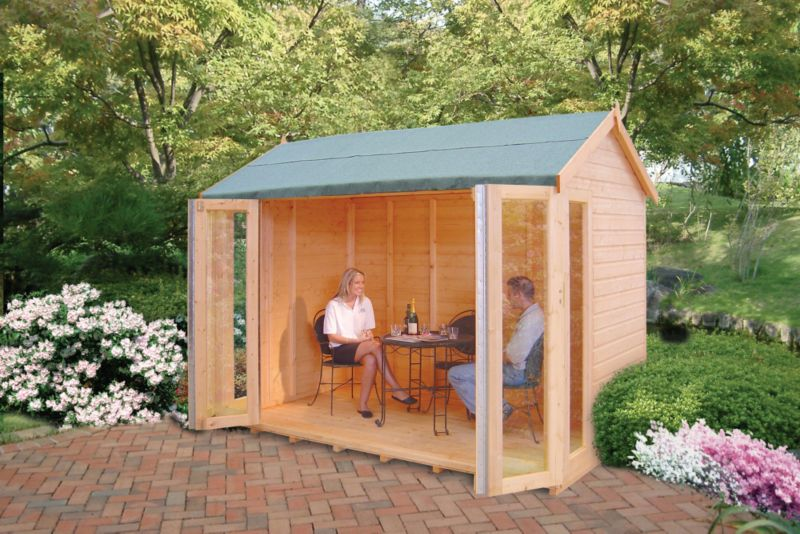Blenheim Cabin Including Assembly (H) 2.48 x (W) 2.99 x (D) 1.79m