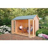 Save on this Blenheim Cabin Including Assembly (H) 2.48 x (W) 2.99 x (D) 1.79m