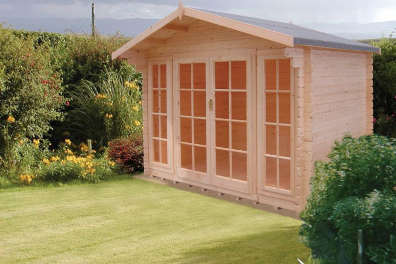 Epping Cabin Including Assembly (H) 2.5 x (W) 2.99 x (D) 1.79m