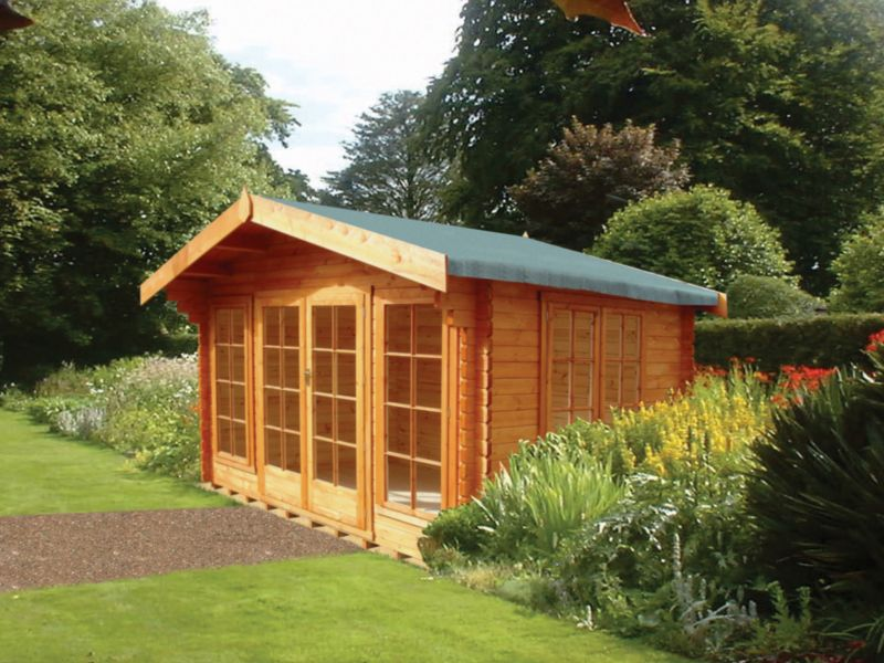 Argyll 12ft x 12ft Cabin Including Assembly
