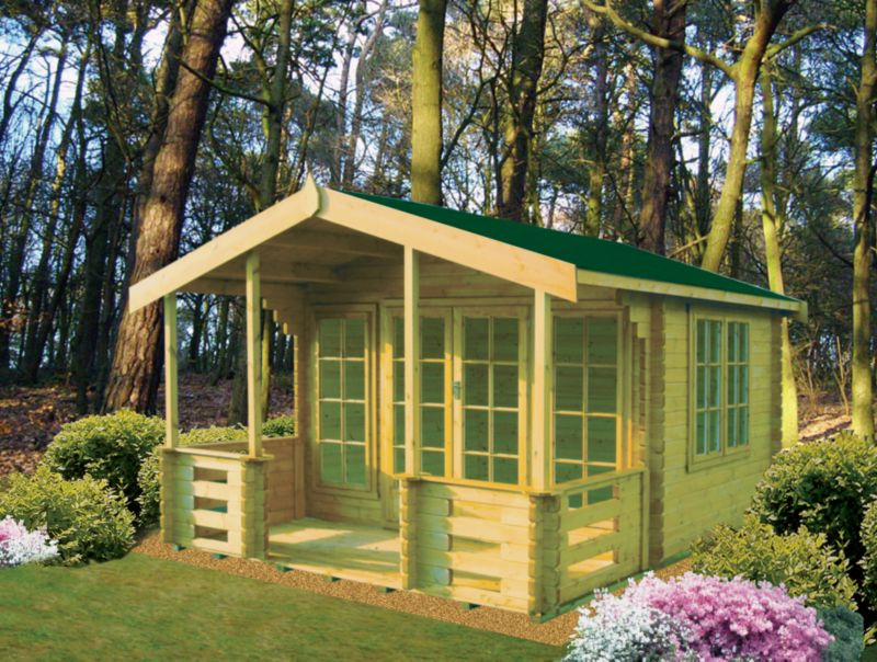Hatfield 12ft x 13ft Cabin Including Assembly