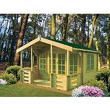 Save on this Hatfield 12ft x 13ft Cabin Including Assembly