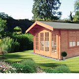 Save on this Keilder Log Cabin  (H) 2.7m x (W) 3.59m x (D) 4.48m