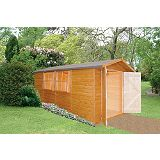 Save on this Apex Shed Model 137 Including Assembly Honey Brown