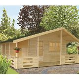Save on this Arden Log Cabin Left Hand Terrace (H) 2.95m x (W) 5.37m x (D) 4.5m