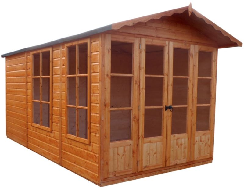 10X7 Kensington Summerhouse Including Assembly