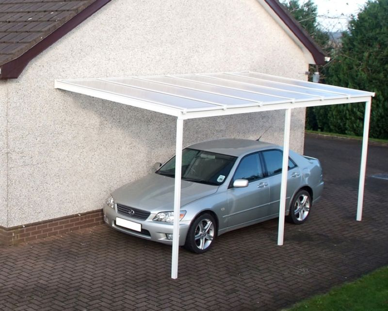 Polycarbonate Carport 2.6 x 6.0m