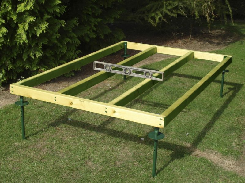 6X4 Wooden Shed Base