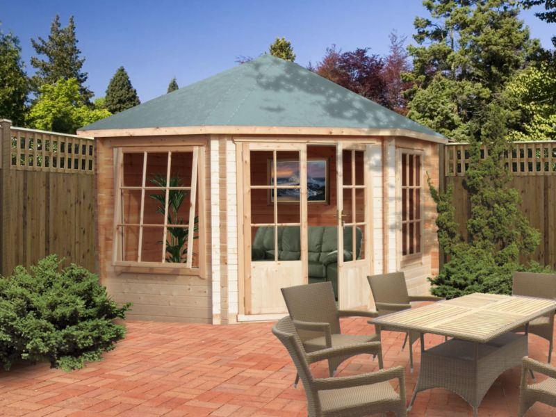 Belvoir Cabin 9ft x 9ft Including Assembly