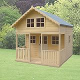Save on this Lodge Playhouse -  (H) 2.59m x (W) 2.39m x (D) 2.69m