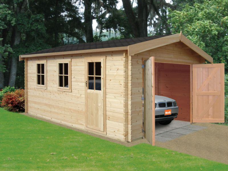 Bradenham Cabin Including Assembly (H) 2.79 x (W) 3.8 x (D) 5.39m