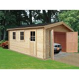 Save on this Bradenham Cabin Including Assembly (H) 2.79 x (W) 3.8 x (D) 5.39m