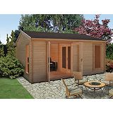 Save on this Brightsone 45 Cabin (H) 2.82 x (W) 5.28 x (D) 3.88m