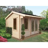 Save on this Wychwood Cabin Including Assembly (H) 2.66 x (W) 3.59 x (D) 2.99m