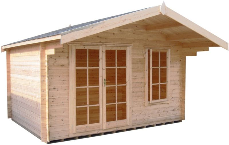Cannock Cabin Including Assembly (H) 2.5 x (W) 2.99 x (D) 2.39m