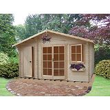 Save on this Carrick Cabin Including Assembly (H)2.7 x (W)4.19 x (D)2.39m