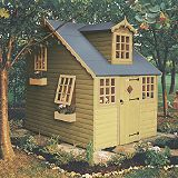 Save on this Cottage Playhouse 2390 x 1790 Including Assembly Honey Brown