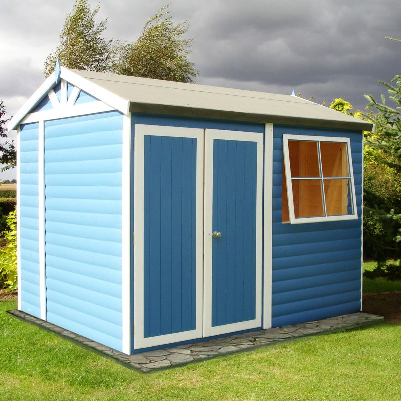 10x7 Mammoth Wooden Shed Workshop - Home Delivered With Assembly