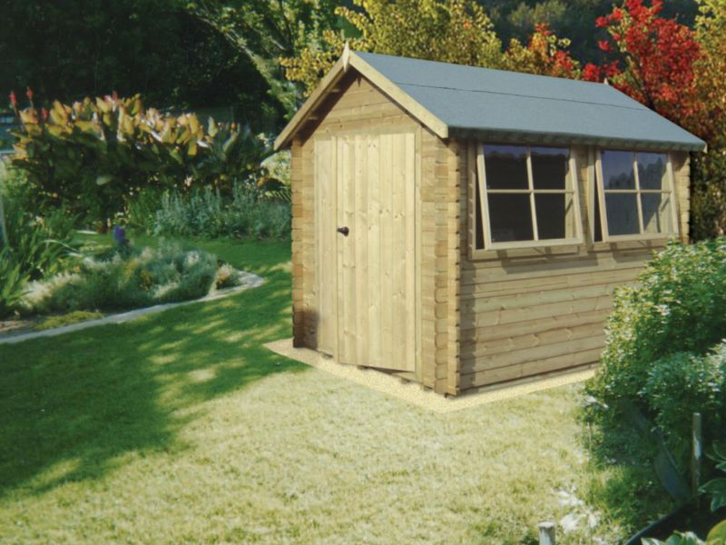 Galway Cabin Including Assembly (H)2.4 x (W)2.39 x (D)2.99m