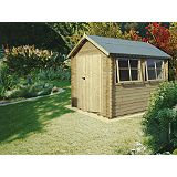 Save on this Galway Cabin Including Assembly (H)2.4 x (W)2.39 x (D)2.99m