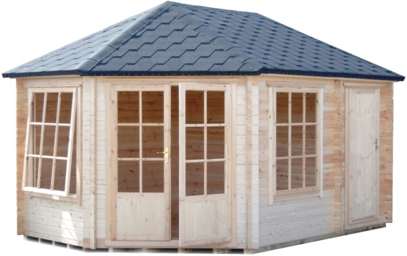 Rowney Corner Cabin & Shed Including Assembly