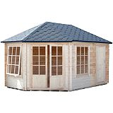 Save on this Rowney Corner Cabin & Shed Including Assembly