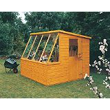 Save on this Potting Shed Including Assembly Honey Brown