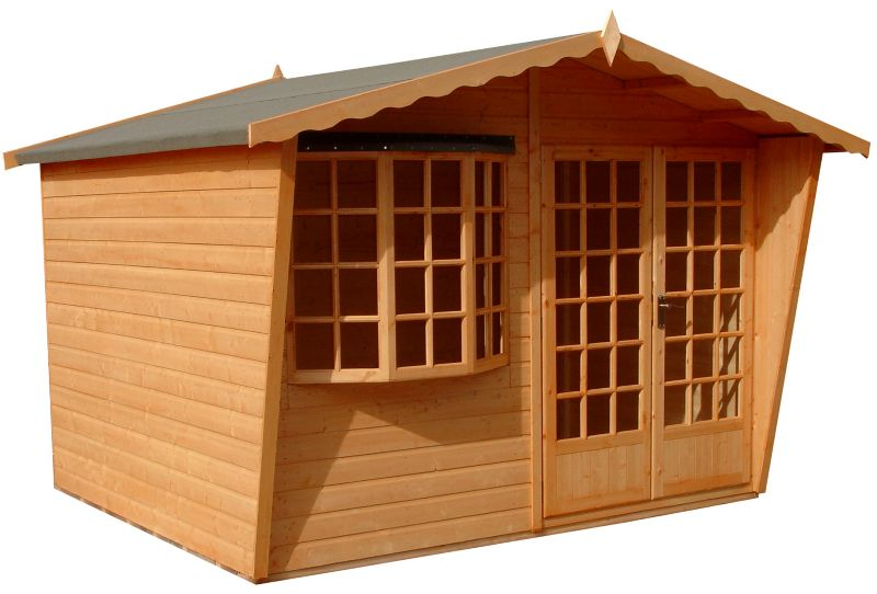 10X8 Sandringham Summerhouse With Assembled